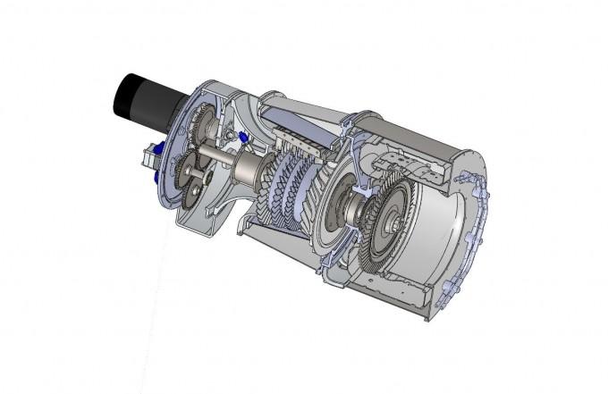 Mixed Flow Compressor : Engine development kutrieb research