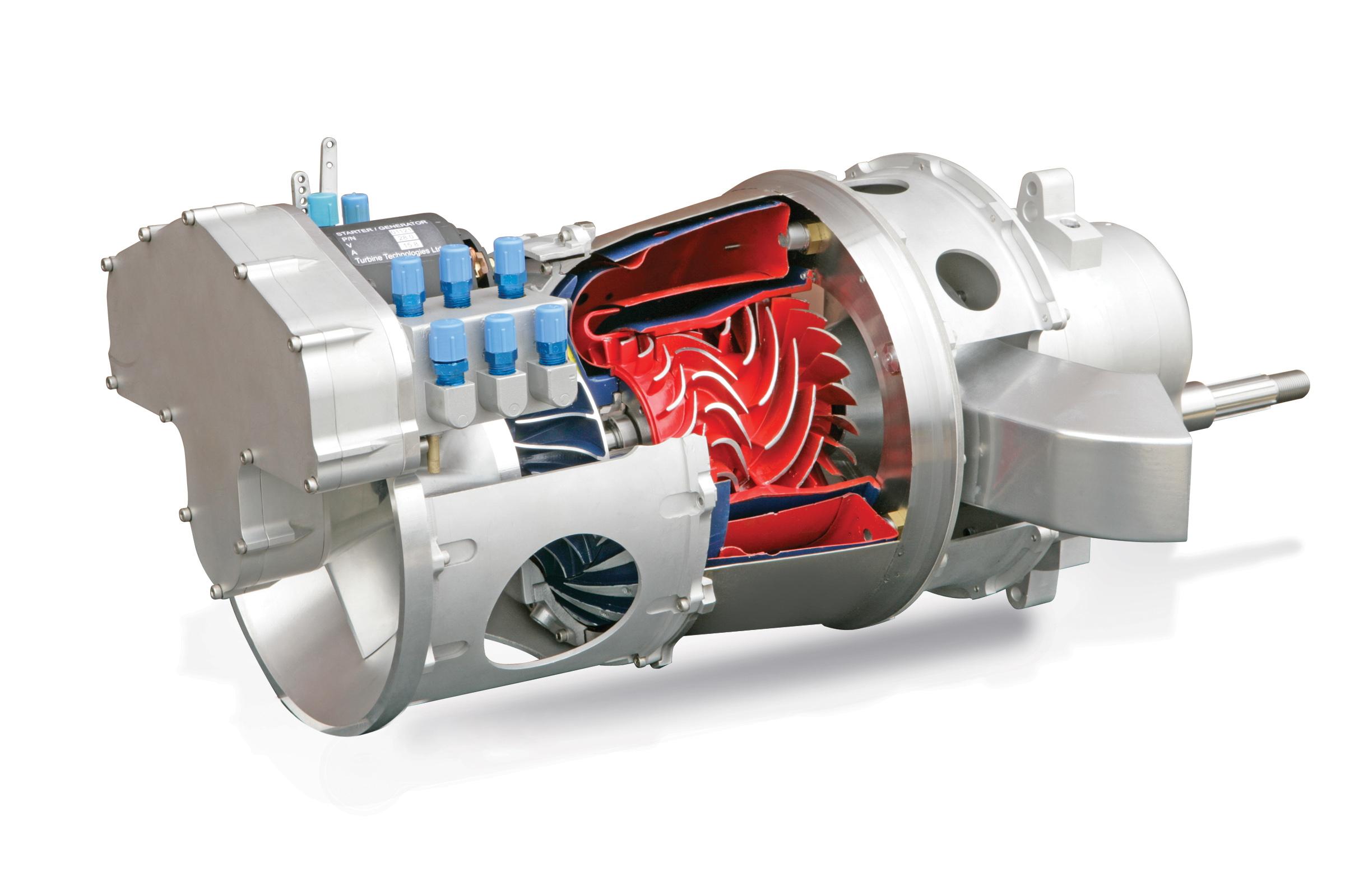 turboshaft engine monpence